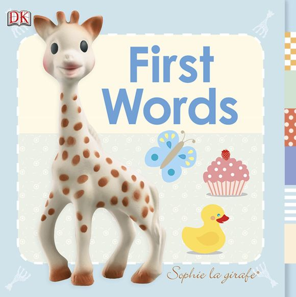 Board book cover of Sophie la girafe First Words