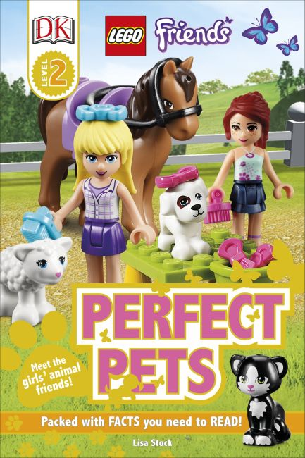Hardback cover of LEGO® Friends Perfect Pets