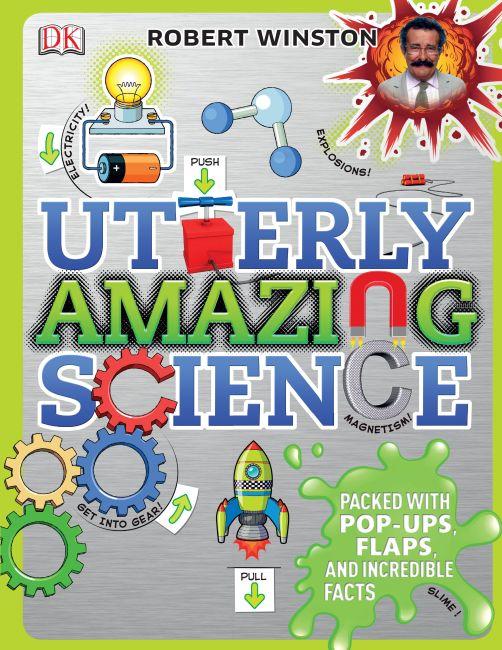 Hardback cover of Utterly Amazing Science