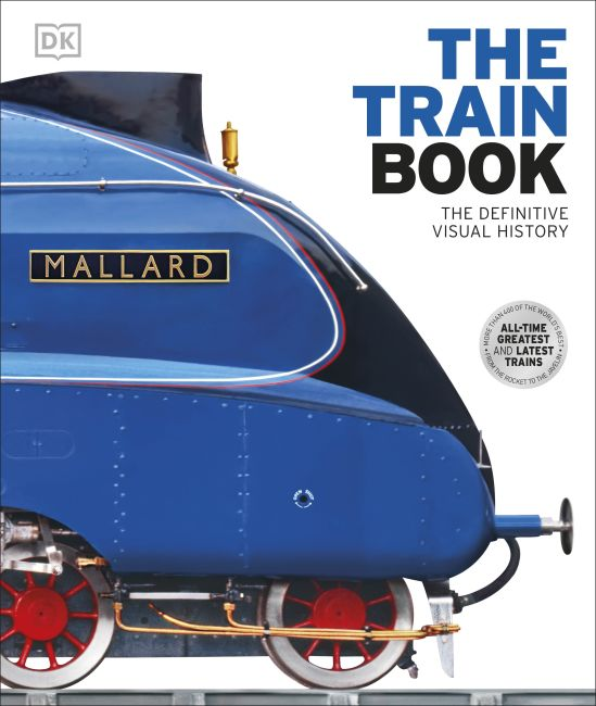 Hardback cover of The Train Book