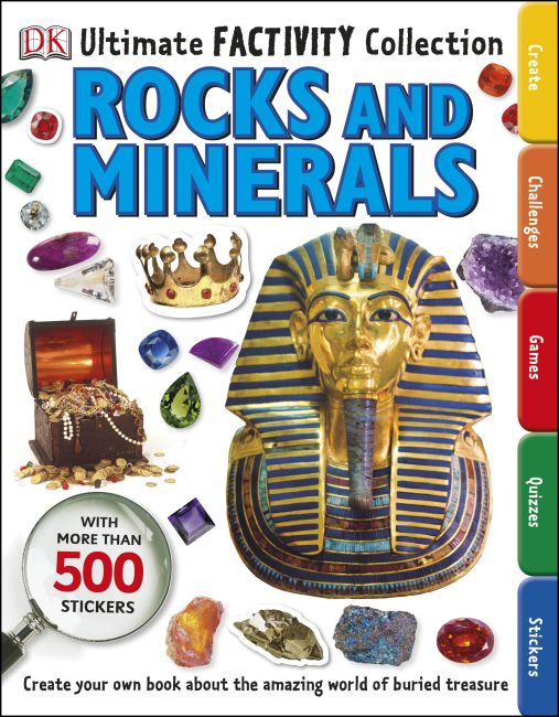 Paperback cover of Rocks and Minerals Ultimate Factivity Collection