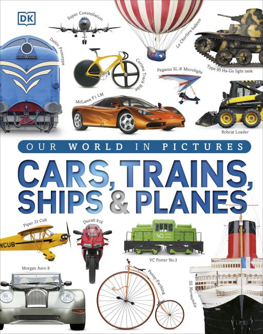 Hardback cover of Cars, Trains, Ships and Planes