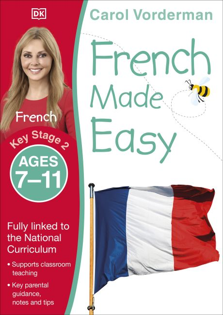 Paperback cover of French Made Easy, Ages 7-11 (Key Stage 2)