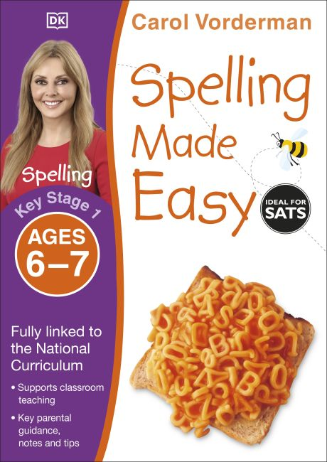 Paperback cover of Spelling Made Easy Ages 6-7 Key Stage 1