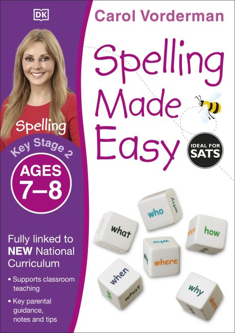 Paperback cover of Spelling Made Easy, Ages 7-8 (Key Stage 2)