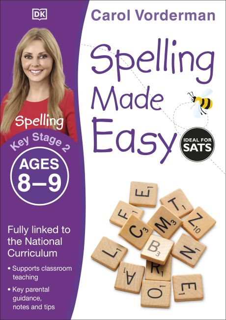 Paperback cover of Spelling Made Easy Ages 8-9 Key Stage 2