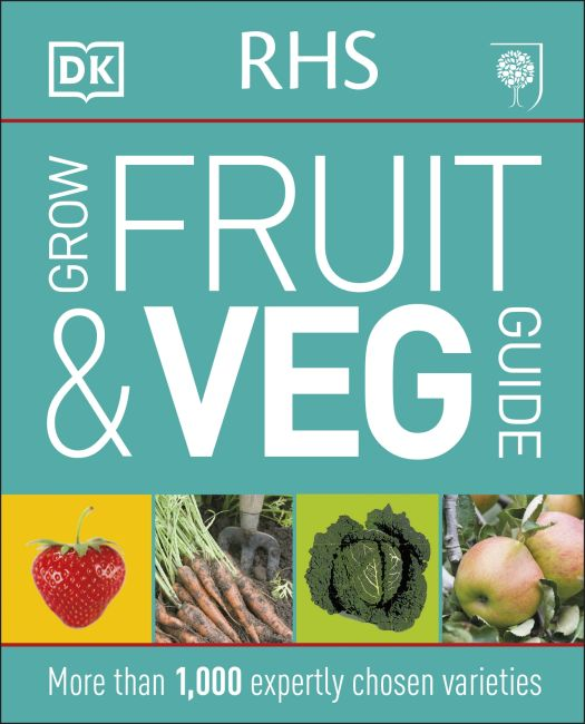 Flexibound cover of RHS Grow Fruit and Veg Guide