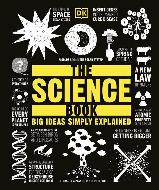 Hardback cover of The Science Book