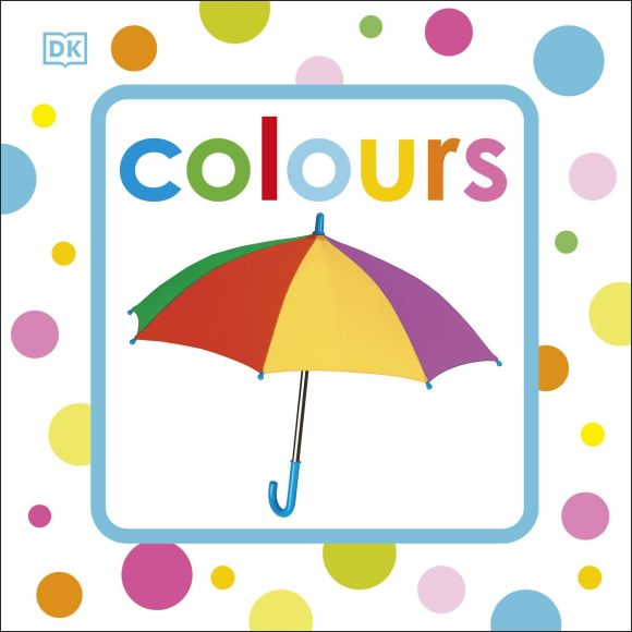 Paperback cover of Squeaky Baby Bath Book Colours