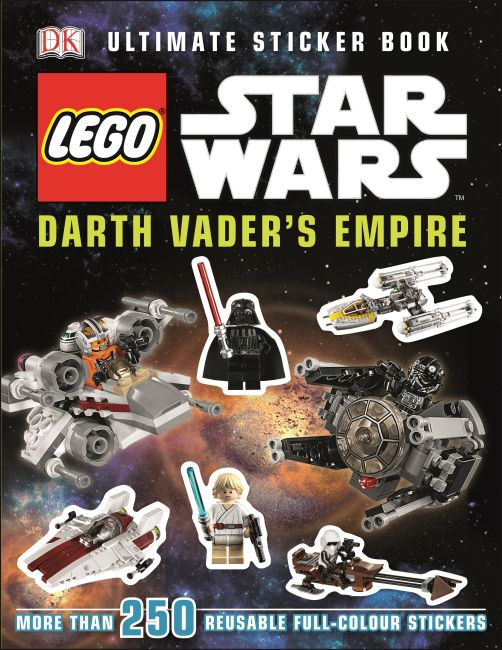 Paperback cover of LEGO® Star Wars™ Darth Vader's Empire Ultimate Sticker Book