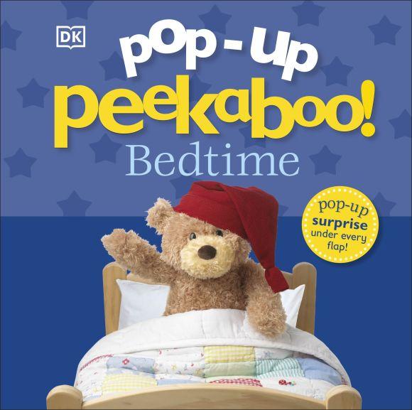Board book cover of Pop-Up Peekaboo! Bedtime