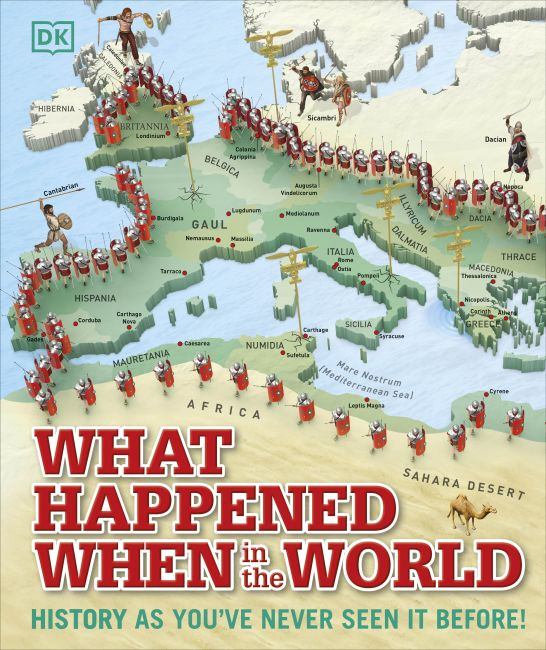 Hardback cover of What Happened When in the World