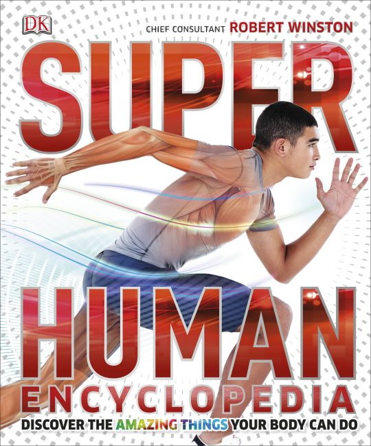 Hardback cover of Super Human Encyclopedia