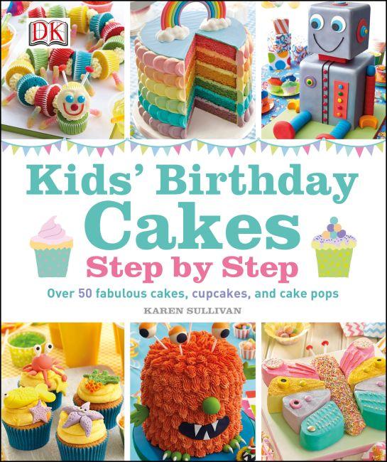 Hardback cover of Kids' Birthday Cakes