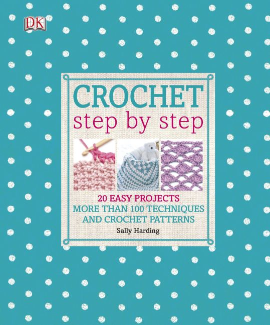 Hardback cover of Crochet Step by Step