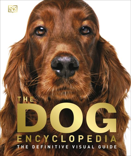 Hardback cover of The Dog Encyclopedia