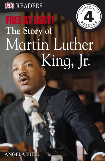 eBook cover of Free At Last: The Story of Martin Luther King, Jr.