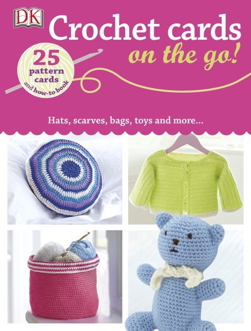 Paperback cover of Crochet Cards on the Go!