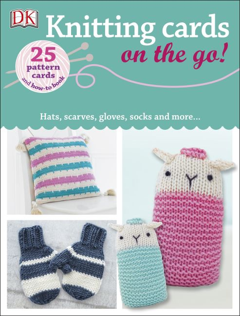Paperback cover of Knitting Cards on the Go!
