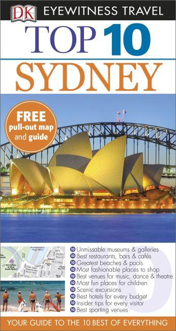 Paperback cover of DK Eyewitness Top 10 Sydney