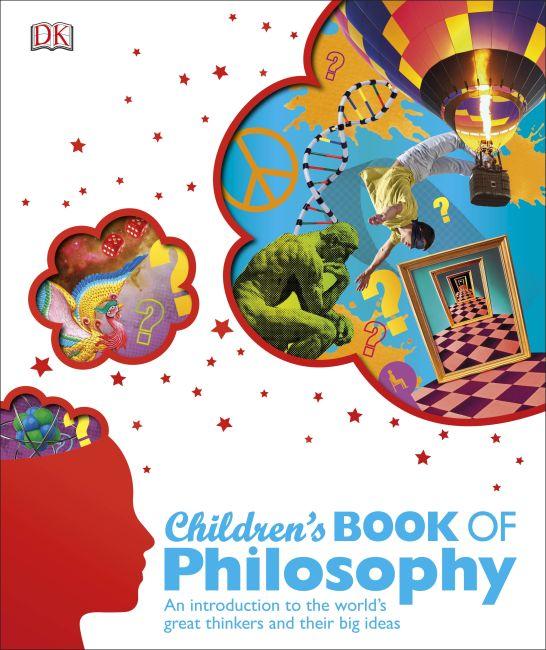 Hardback cover of Children's Book of Philosophy