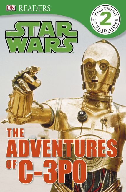eBook cover of Star Wars The Adventures Of C-3PO