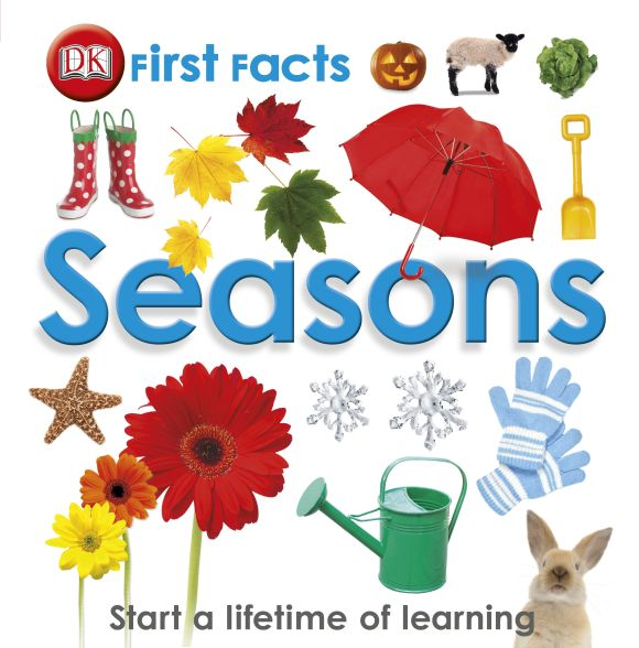 Hardback cover of First Facts Seasons