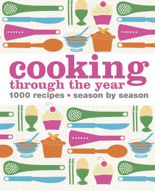 eBook cover of Cooking Through the Year