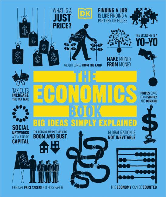 Hardback cover of The Economics Book
