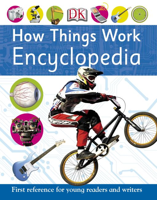 Paperback cover of How Things Work Encyclopedia