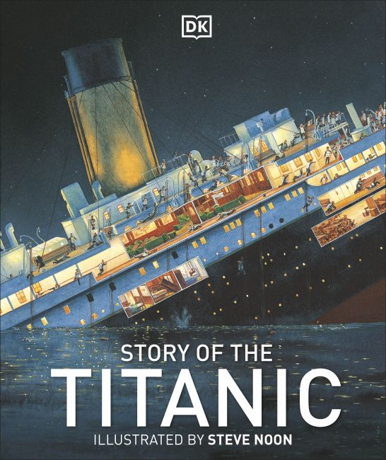 Hardback cover of Story of the Titanic