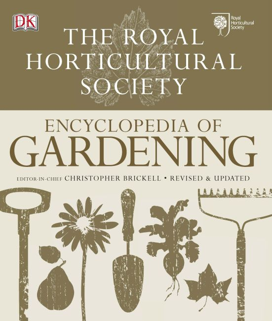 Hardback cover of RHS Encyclopedia of Gardening