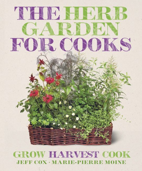 Paperback cover of The Herb Garden for Cooks