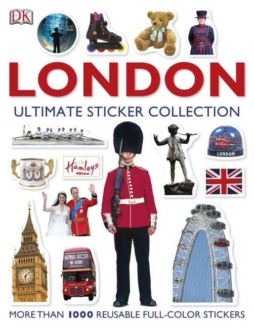 Paperback cover of London Ultimate Sticker Collection