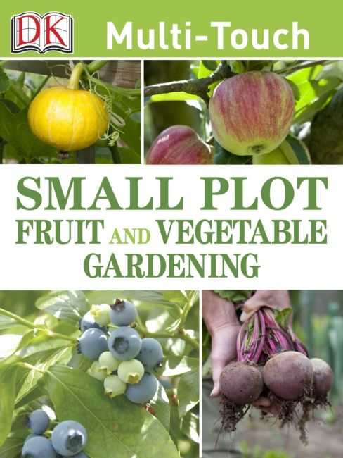 eBook cover of Small Plot Fruit and Vegetable Gardening