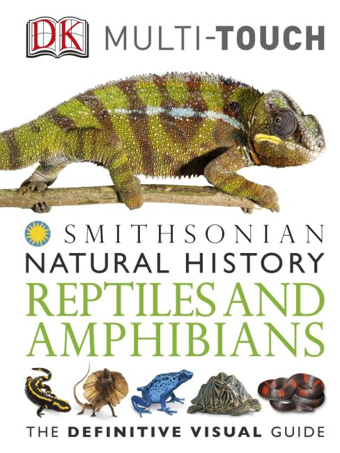 eBook cover of DK Natural History Reptiles and Amphibians