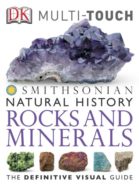eBook cover of DK Natural History Rocks and Minerals