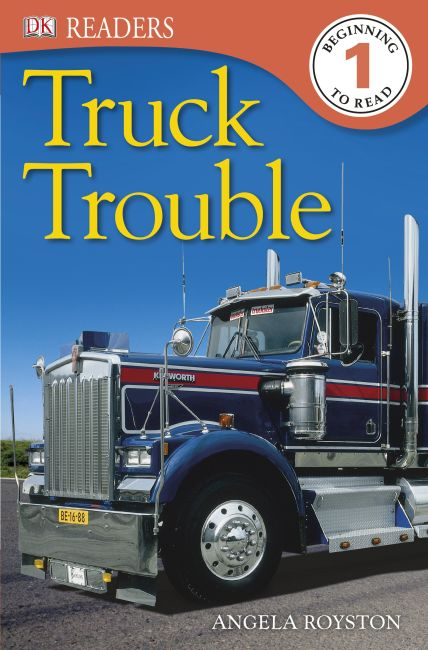 eBook cover of DK Readers: Truck Trouble