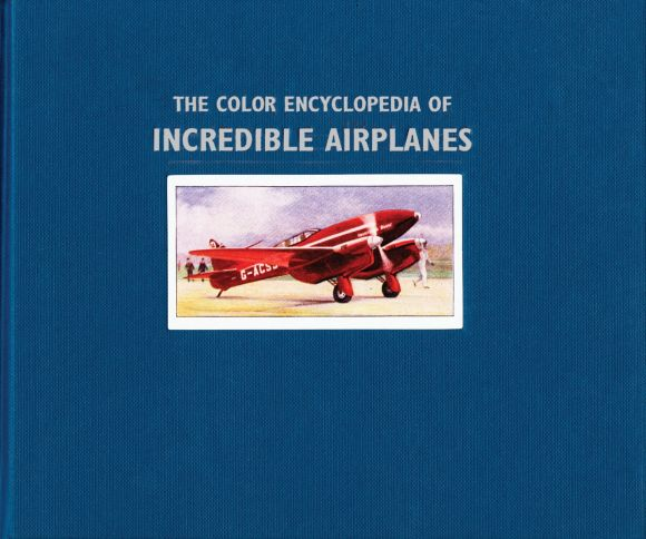 eBook cover of Color Ency of Incredible Airplanes