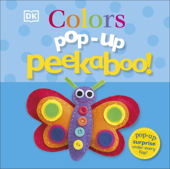 Board book cover of Pop-Up Peekaboo! Colors