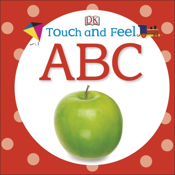 Board book cover of Touch and Feel: ABC