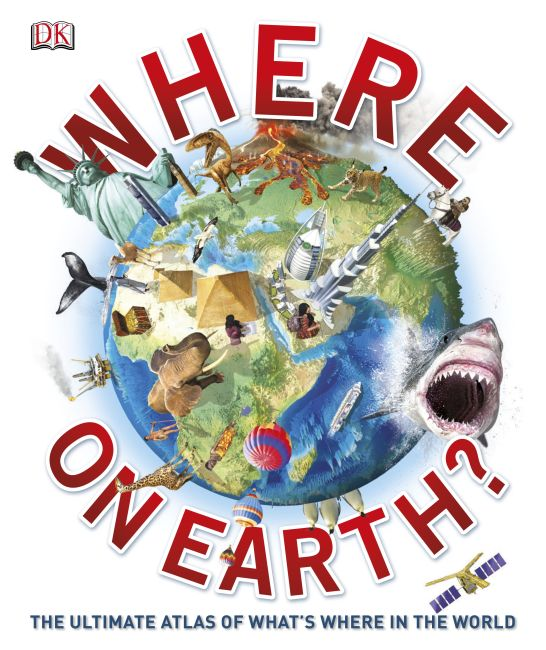 Hardback cover of Where on Earth?