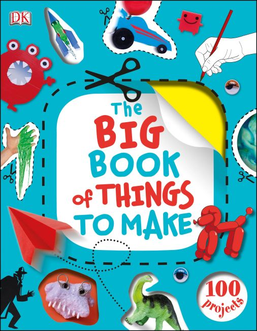 Hardback cover of The Big Book of Things to Make