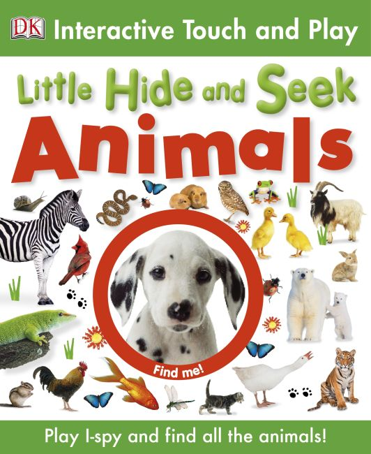 eBook cover of Little Hide and Seek: Animals