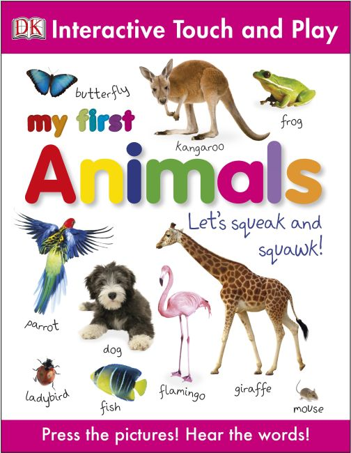 eBook cover of My First Animals
