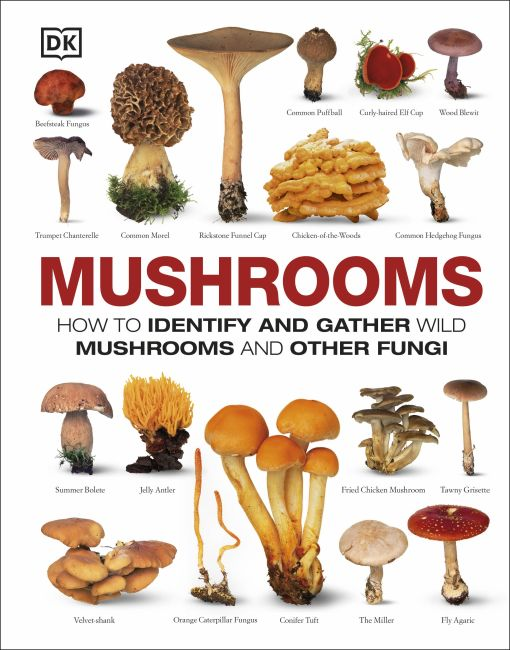 Hardback cover of Mushrooms
