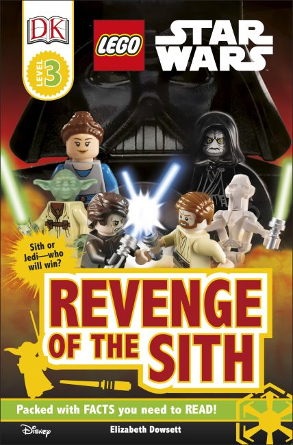Paperback cover of DK Readers L3: LEGO Star Wars: Revenge of the Sith