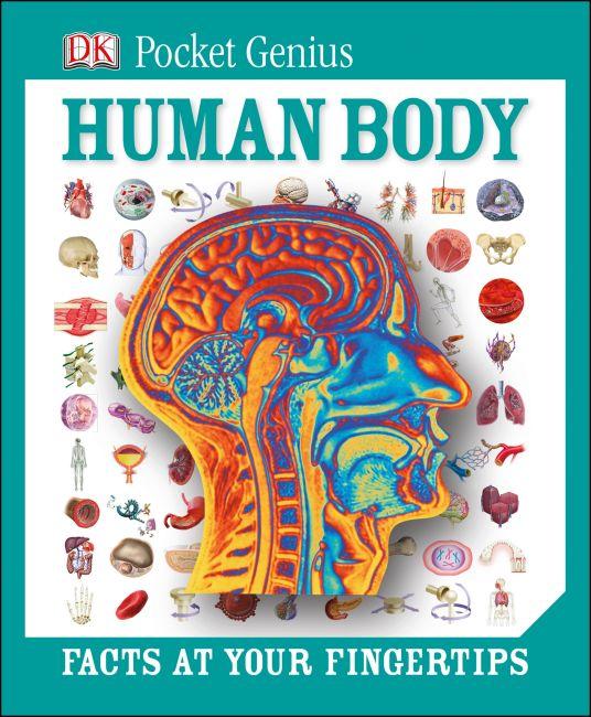 Hardback cover of Pocket Genius: Human Body