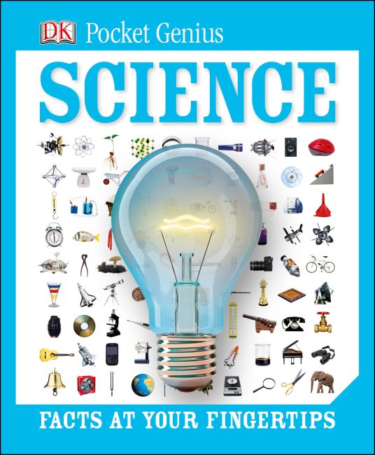 Hardback cover of Pocket Genius: Science