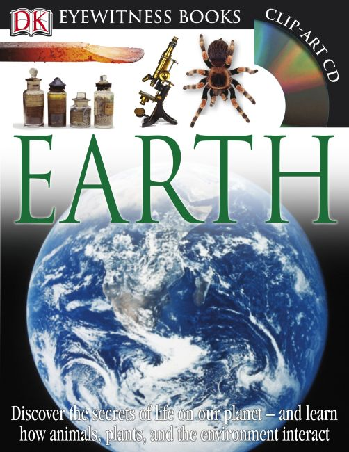 Hardback cover of DK Eyewitness Books: Earth